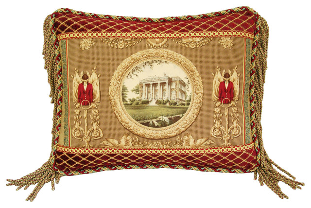 Ralph Lauren Equestrian Riding Pillow contemporary-decorative-pillows