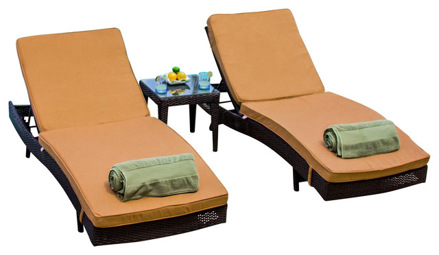 providence 2 person resin wicker patio chaise lounge set outdoor lounge sets by ultimatepatio. Black Bedroom Furniture Sets. Home Design Ideas