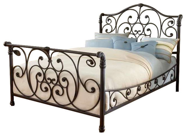 Hillsdale Furniture Mandalay Bed Queen W Side Rails Rustic Old