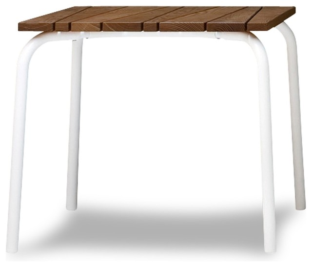 Table inout 832 de gervasoni contemporain table de for Table exterieur metro