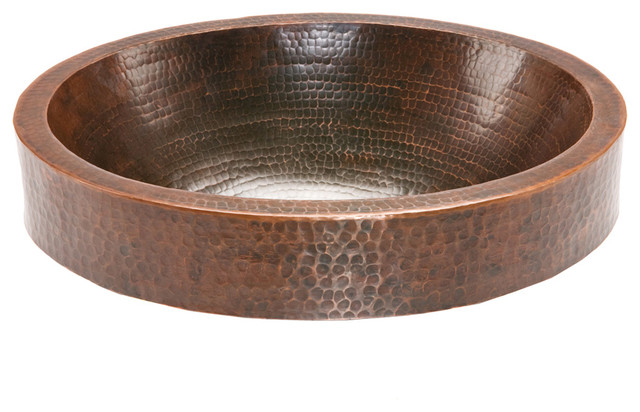 Rustic Sink : ... Copper Sink - Rustic - Bathroom Sinks - Other - by Lucido Luxe