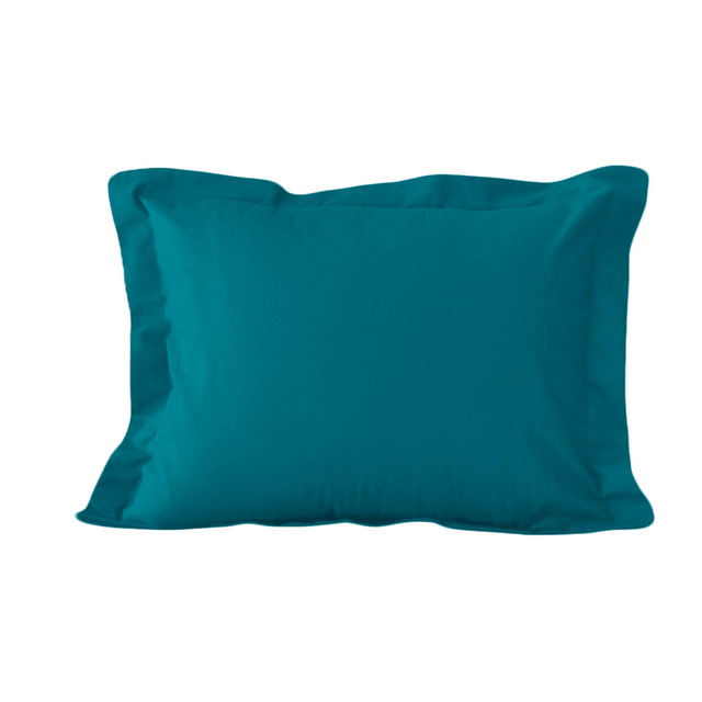 standard size tailored pillow sham in peacock by ab. Black Bedroom Furniture Sets. Home Design Ideas