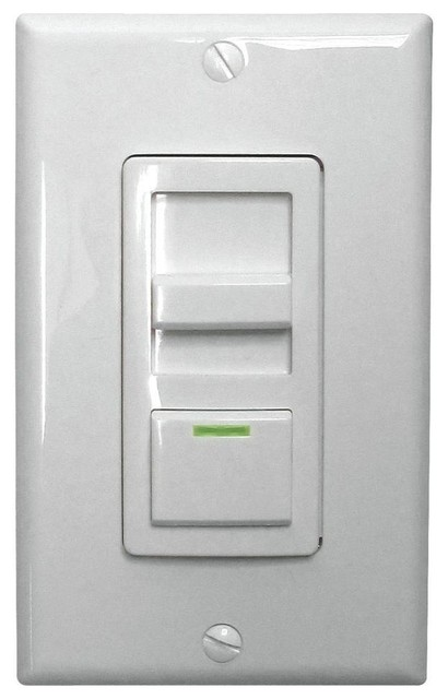 Lithonia Lighting Lighting Switches LED Troffer Dimmer Switch White ISD BC - Contemporary ...
