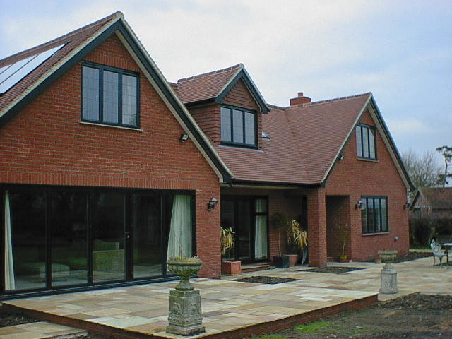 Large bungalow extension in the green belt modern - Bungalow extension designs ...