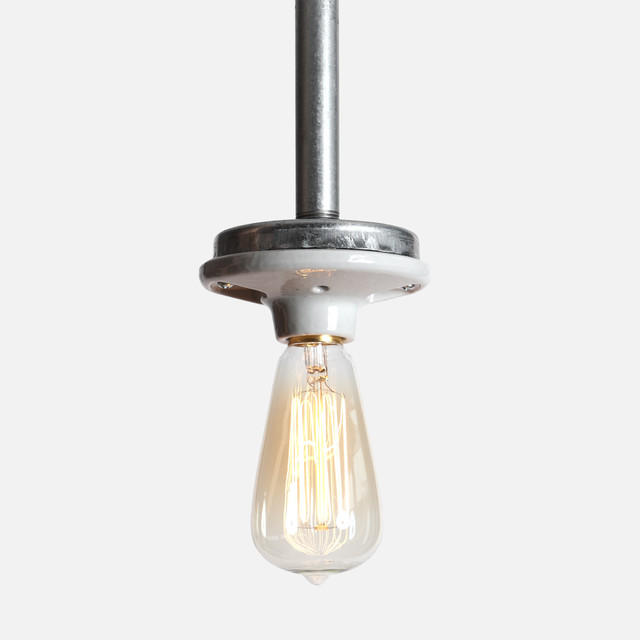 Industrial Pendant Pipe Light
