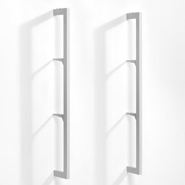 montant taktik pour syst me de rangement lot de 2 contemporain tag re et vitrine par am pm. Black Bedroom Furniture Sets. Home Design Ideas