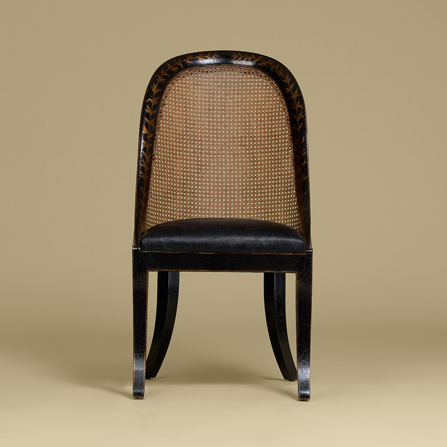 Violet chairs for Ava nailhead chaise