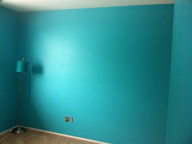 Gem Turquoise Room - Traditional - edmonton - by Welcome Home Painting