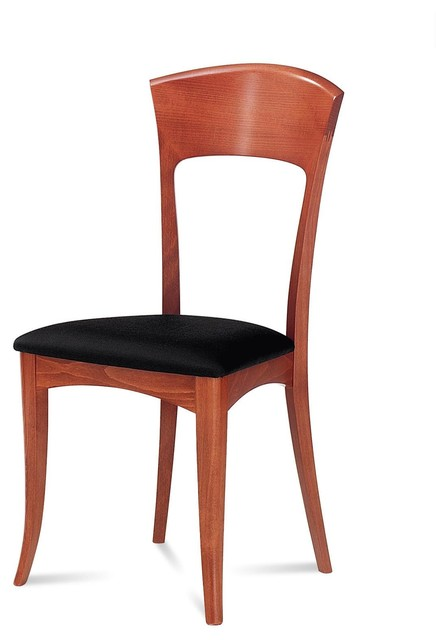 giusy dining chair light cherry set of 2 modern dining chairs