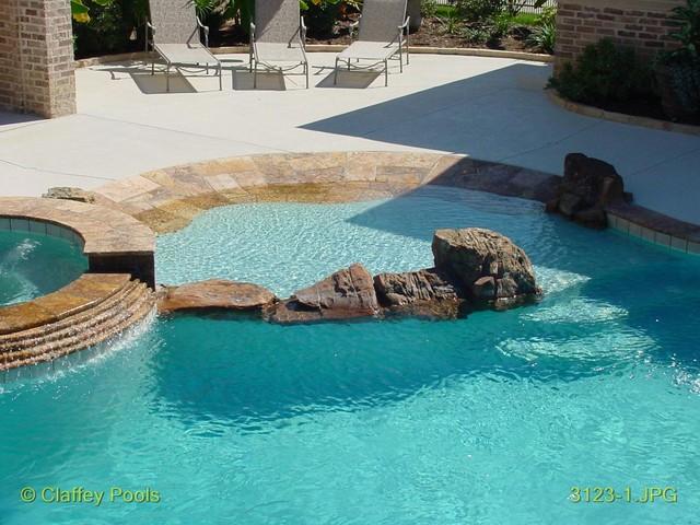 Beach Pool Construction : Beach entrys