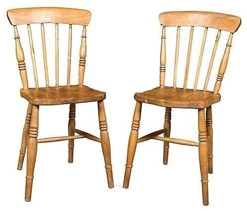 farmhouse pine dining chairs 3