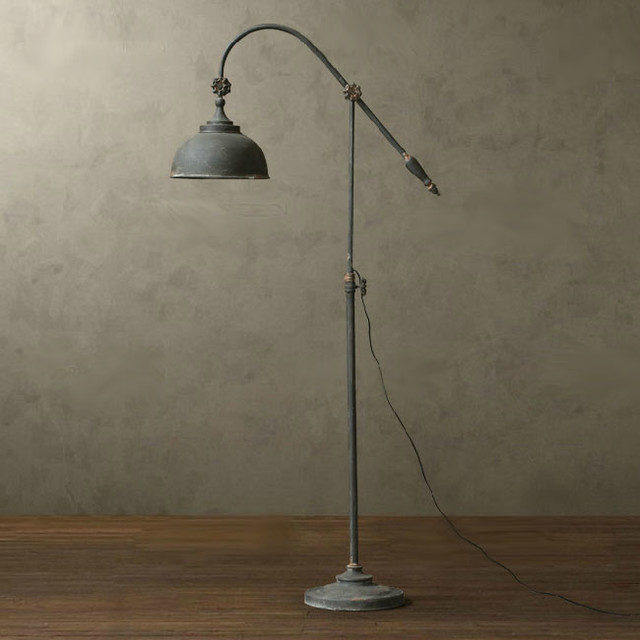 floor lamp rustic floor lamps new orleans by phx lighting. Black Bedroom Furniture Sets. Home Design Ideas