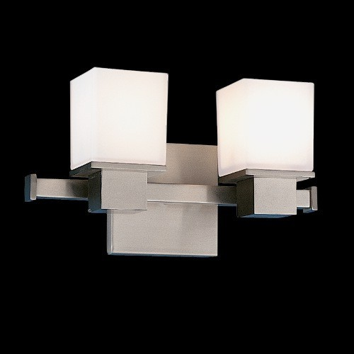 Bathroom Vanity Lights Contemporary : Milford Two Light Vanity Light modern-bathroom-vanity-lighting