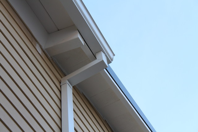 Venice Beach 5 inch K-style Gutters,Smooth Downspouts - Eclectic - los angeles - by A Plus ...