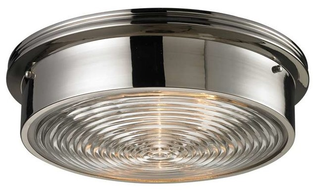 Elk Lighting 11443 3 Flushmounts Modern Flush Mount Ceiling Light Contempor