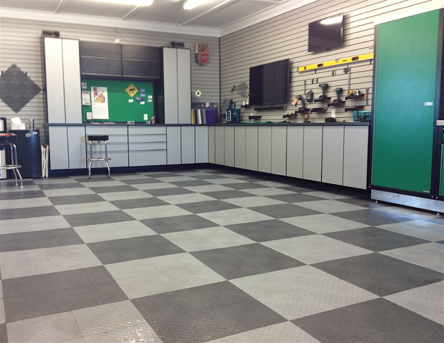 Racedeck Garage Flooring Tiles In Home Garage Shop Wall