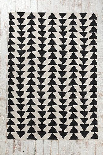 Magical Thinking Triangle Chain Rug Modern Rugs By