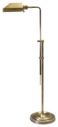 Coach Pharmacy Floor Lamp - House of Troy CH825-AB - Traditional - Floor Lamps - by Lamps Beautiful