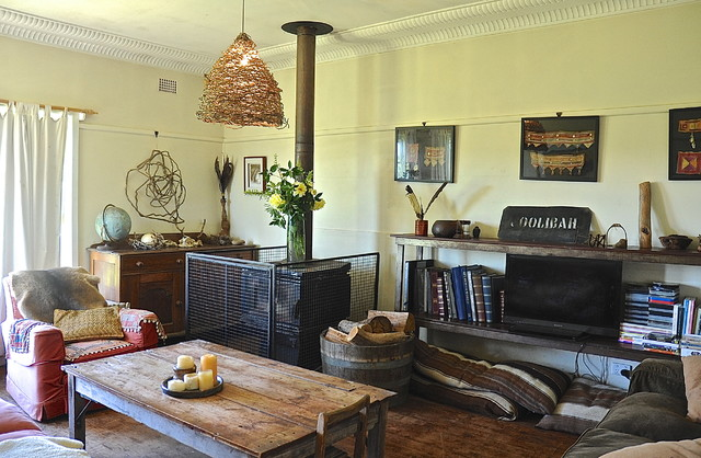 Harriet goodall rustic living room adelaide by for Home decorations adelaide