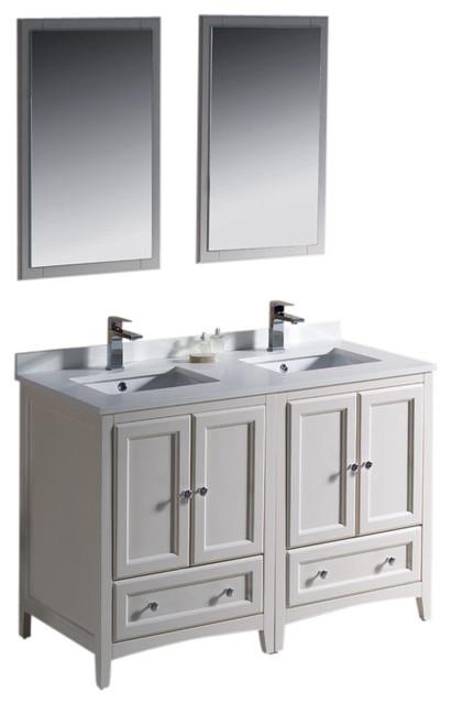 New Inval Classic Contemporary Bathroom Vanity  16055571  Overstockcom