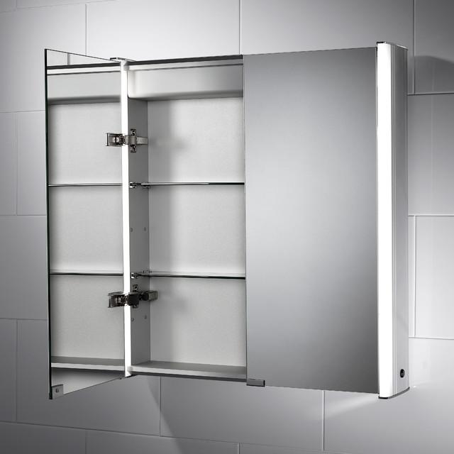 Georgia led cabinet modern bathroom cabinets shelves for Bathroom cabinets yorkshire