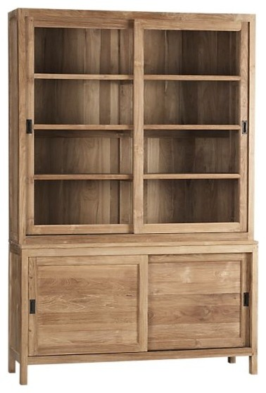 ... Pantry Hutch Cabinet With Pacifica Buffet/Hutch Top Eclectic China  Cabinets And Hutches With Black