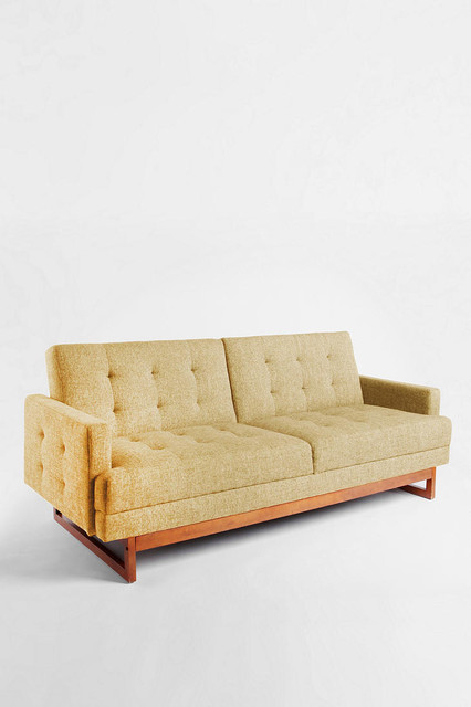 Either Or Convertible Sofa Yellow Modern Sofas By Urban Outfitters