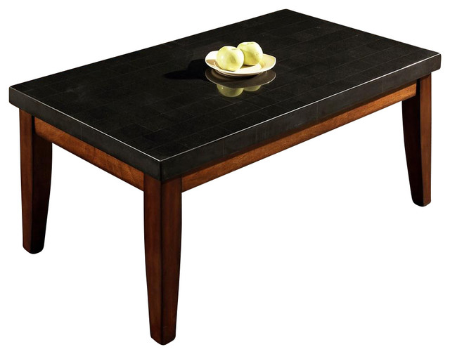 Granite Bello Collection Cocktail Table - Contemporary - Coffee Tables ...