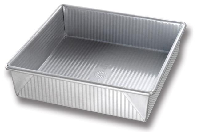 USA Pans 8 Inch Square Cake Pan