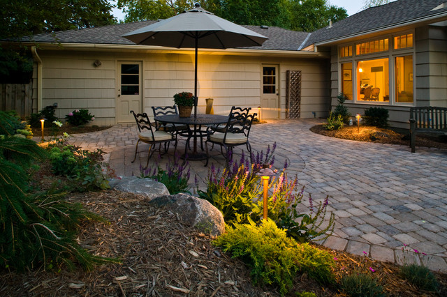 Patios Transitional Patio Minneapolis By Tabor