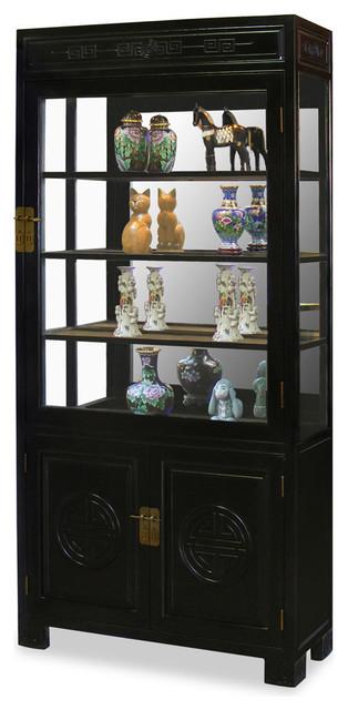 Arts  Elmwood Longevity Design China Cabinet Furniture Houzz