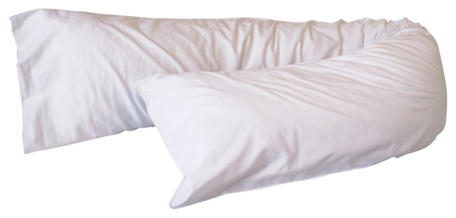 Bicor Body Wrap Pillow Traditional Bed Pillows By