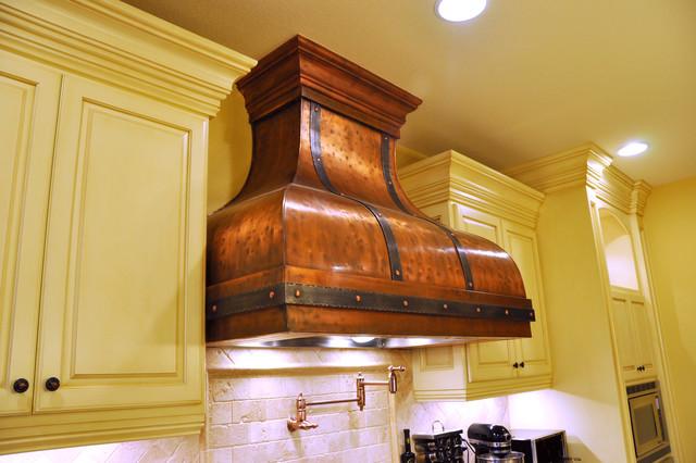 Custom Copper Range Hood- Bettina Range Hood - Traditional - Range Hoods And Vents - Portland ...