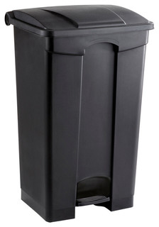 Safco Plastic Step-on Receptacle, 23 Gallon - Contemporary - Outdoor Trash Cans - by TSCShops