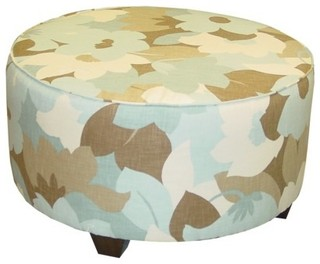 ... , Sea Glass - Contemporary - Footstools And Ottomans - by Target