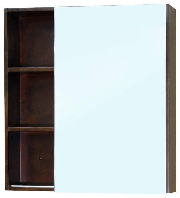 solid wood mirror cabinet walnut modern bathroom mirrors by