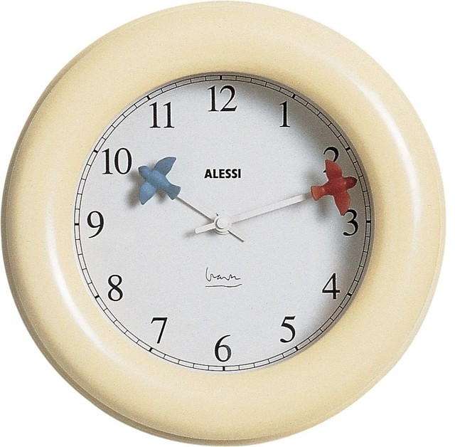 Alessi kitchen clock modern wall clocks by lbc modern Modern clocks for kitchen