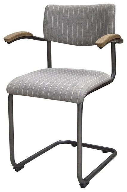 Four Hands Quinn Dining Chair Twill Industrial Sillas