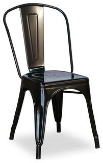Tolix Chair Black Modern Dining Chairs Brisbane By BrisbaneFurniture