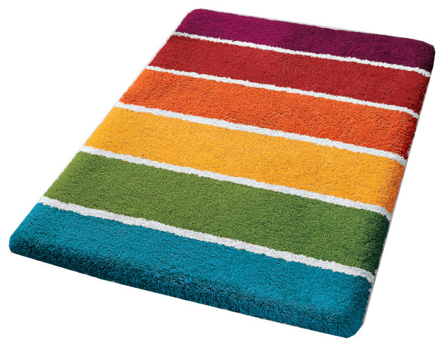 ... Bathroom Rug, Colorful, Select - Contemporary - Bath Mats - by Vita