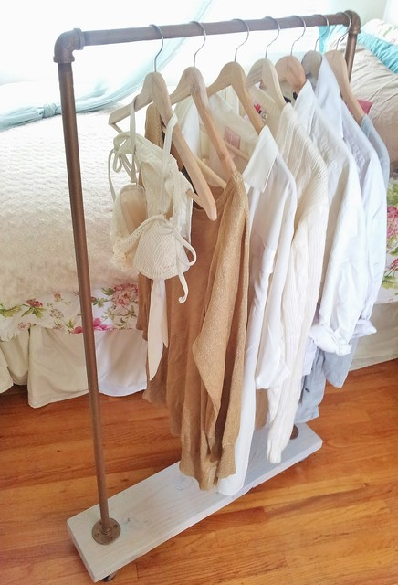 Vintage Gold Garment Racks Eclectic Clothes Racks Other Metro By Penny Lane Amp Whitney J