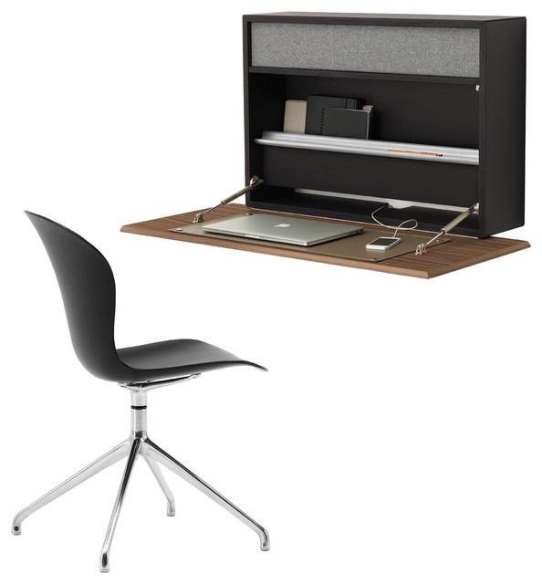 Boconcept wall mounted cupertino desk contemporain for Meuble boconcept