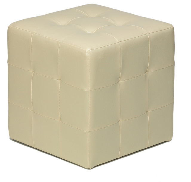 Braque Cube Ottoman Modern Footstools And Ottomans