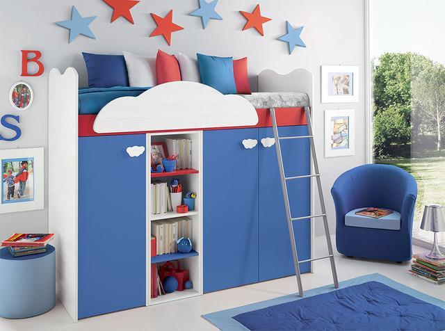 Kid Furniture Modern Funny Kids Bedroom Loft Bed Mycyfi MEMES