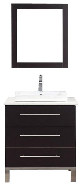 28 inch single sink bathroom vanity contemporary for 28 inch vanity cabinet