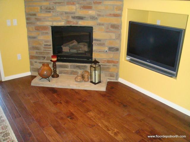 Scottsdale Condo Wood Floors Mediterranean Hardwood