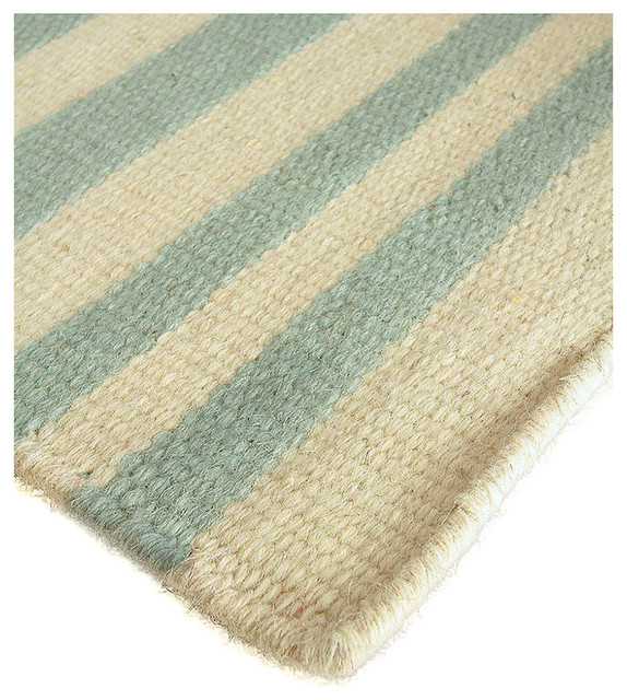 Tradewinds stripe wool berber rug transitional area for Wool berber area rug