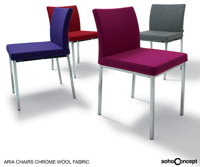 Aria Dining Chair Fabric SohoConcept Modern Dining Chairs Los Angeles