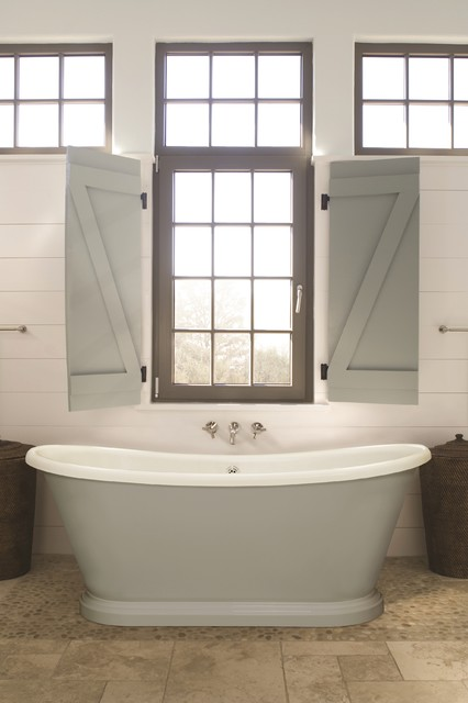 Small boat bath country baths east anglia by bc designs Small yacht bathroom design