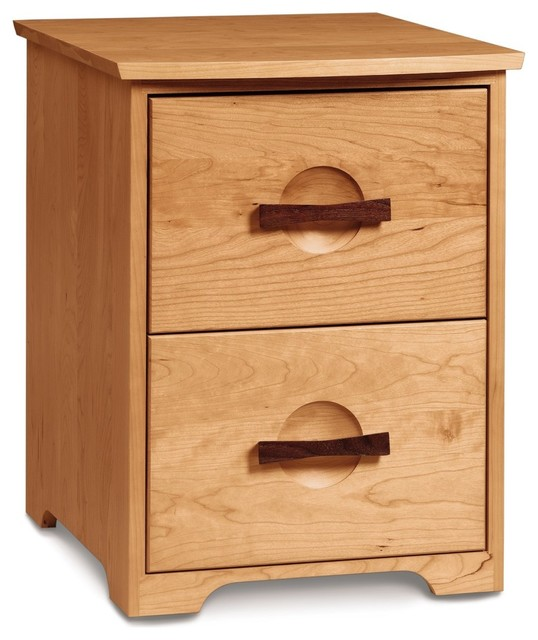 Copeland Berkeley Rolling File, Autumn Cherry - Traditional - Filing Cabinets - by Copeland ...